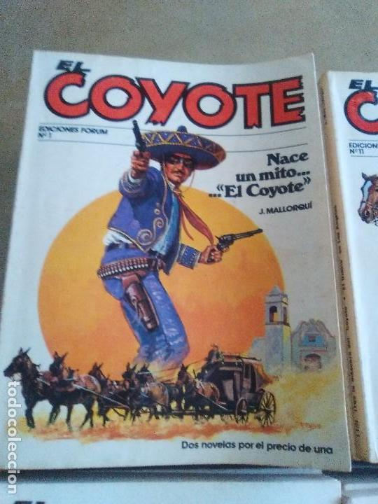 Tebeos: EL COYOTE / JOSE MALLORQUI, COMPLETO 96 EJEMPLARES + NUMERO 0 / PLANETA DE AGOSTINI. AÑO 1983. - Foto 4 - 165777462