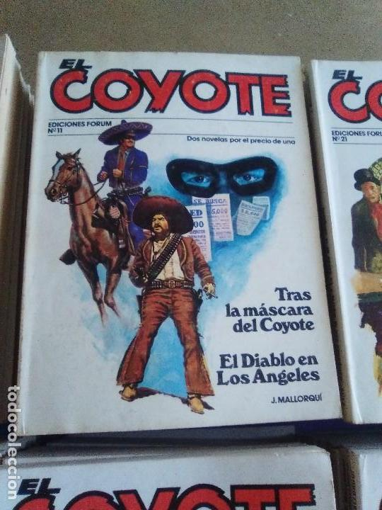 Tebeos: EL COYOTE / JOSE MALLORQUI, COMPLETO 96 EJEMPLARES + NUMERO 0 / PLANETA DE AGOSTINI. AÑO 1983. - Foto 5 - 165777462