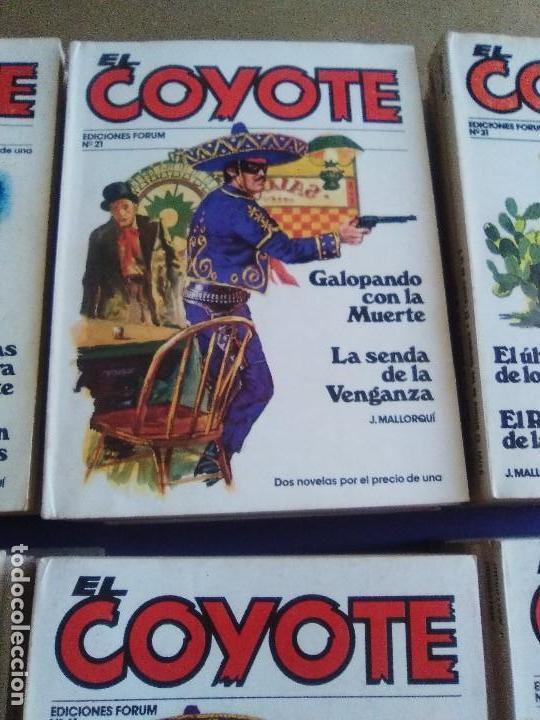 Tebeos: EL COYOTE / JOSE MALLORQUI, COMPLETO 96 EJEMPLARES + NUMERO 0 / PLANETA DE AGOSTINI. AÑO 1983. - Foto 6 - 165777462