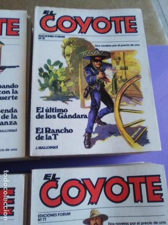 Tebeos: EL COYOTE / JOSE MALLORQUI, COMPLETO 96 EJEMPLARES + NUMERO 0 / PLANETA DE AGOSTINI. AÑO 1983. - Foto 7 - 165777462
