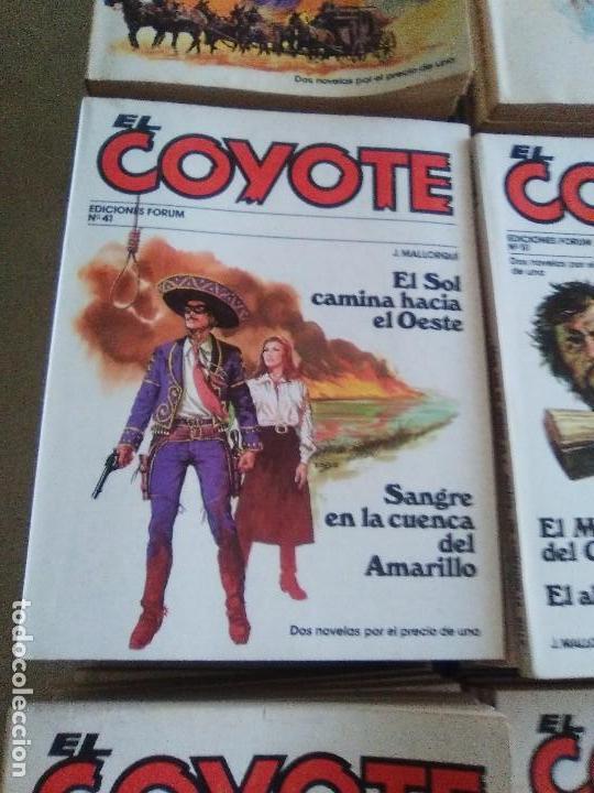 Tebeos: EL COYOTE / JOSE MALLORQUI, COMPLETO 96 EJEMPLARES + NUMERO 0 / PLANETA DE AGOSTINI. AÑO 1983. - Foto 8 - 165777462