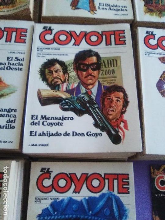 Tebeos: EL COYOTE / JOSE MALLORQUI, COMPLETO 96 EJEMPLARES + NUMERO 0 / PLANETA DE AGOSTINI. AÑO 1983. - Foto 9 - 165777462