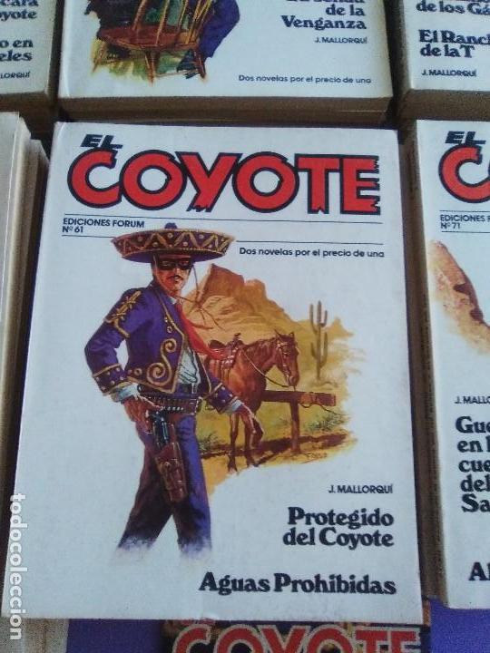 Tebeos: EL COYOTE / JOSE MALLORQUI, COMPLETO 96 EJEMPLARES + NUMERO 0 / PLANETA DE AGOSTINI. AÑO 1983. - Foto 10 - 165777462