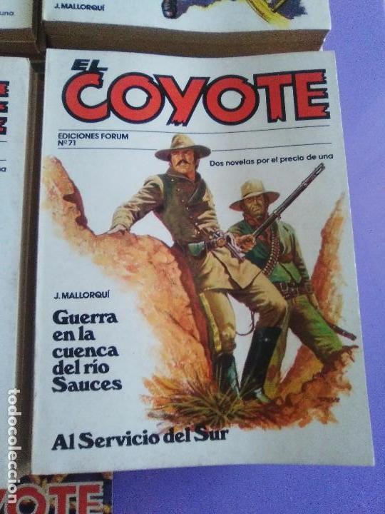 Tebeos: EL COYOTE / JOSE MALLORQUI, COMPLETO 96 EJEMPLARES + NUMERO 0 / PLANETA DE AGOSTINI. AÑO 1983. - Foto 11 - 165777462