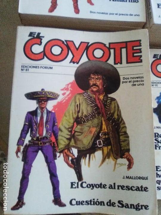 Tebeos: EL COYOTE / JOSE MALLORQUI, COMPLETO 96 EJEMPLARES + NUMERO 0 / PLANETA DE AGOSTINI. AÑO 1983. - Foto 12 - 165777462