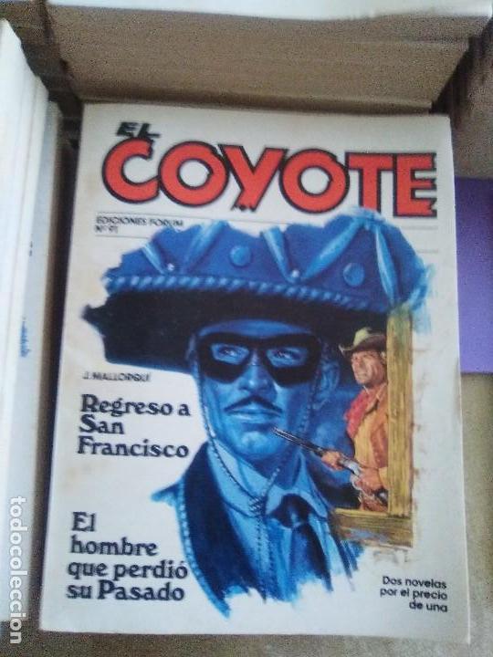 Tebeos: EL COYOTE / JOSE MALLORQUI, COMPLETO 96 EJEMPLARES + NUMERO 0 / PLANETA DE AGOSTINI. AÑO 1983. - Foto 13 - 165777462