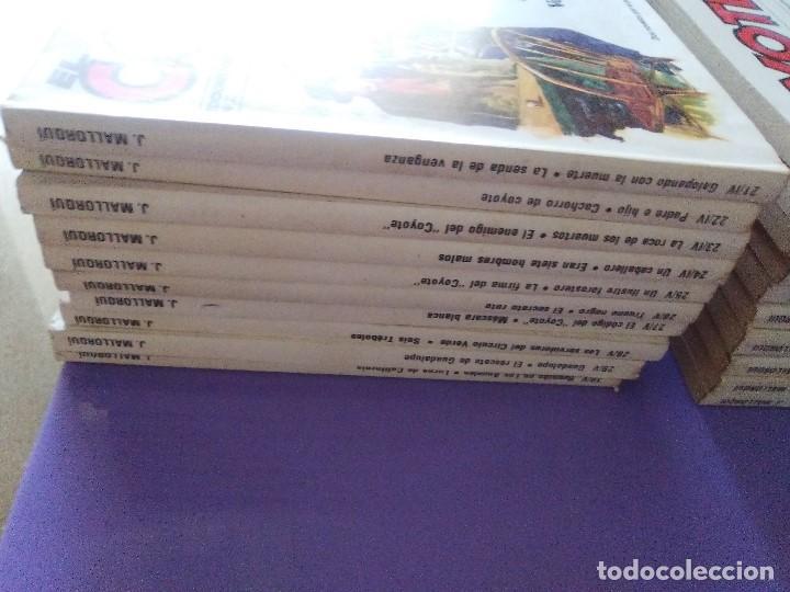 Tebeos: EL COYOTE / JOSE MALLORQUI, COMPLETO 96 EJEMPLARES + NUMERO 0 / PLANETA DE AGOSTINI. AÑO 1983. - Foto 20 - 165777462