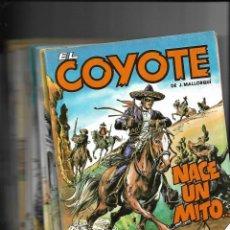 Tebeos: EL COYOTE, COLECCIÓN COMPLETA SON 24. TEBEOS ORIGINALES DE EDICIONES FORUM AGOTADA Y MUY NUEVOS. Lote 165805450