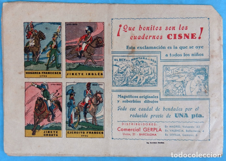 Tebeos: LA MONTAÑA MISTERIOSA , NOVELA CIENTIFICA , CLIPER , ANTIGUO , ORIGINAL , CT1 - Foto 2 - 167829392