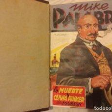 Tebeos: MIKE PALABRAS ILUSTRADO DIBUJO F BATET 1A EDICICION ED CLIPER AÑO 1947 SEIS PRIMEROS ENCUADERNADOS . Lote 168632368