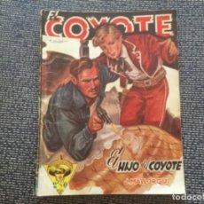 Tebeos: EL COYOTE. EL HIJO DEL COYOTE POR J. MALLORQUÍ. EDICIONES CLIPER 1946. Lote 169388520