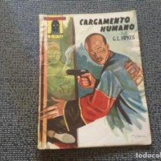 Tebeos: EL ENCAPUCHADO. CARGAMENTO HUMANO Nº5 POR G.L. HIPKISS. EDICIONES CLIPER 1946. Lote 169428428