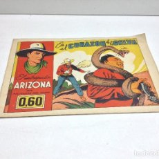 Tebeos: EL INTREPIDO ARIZONA - EN EL CORAZON DE LA SELVA Nº 8 - ORIGINAL. Lote 170014672