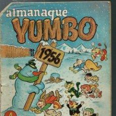Tebeos: ALMANAQUE YUMBO 1956 - CLIPER - ORIGINAL - EL DE LA FOTO. Lote 170107836