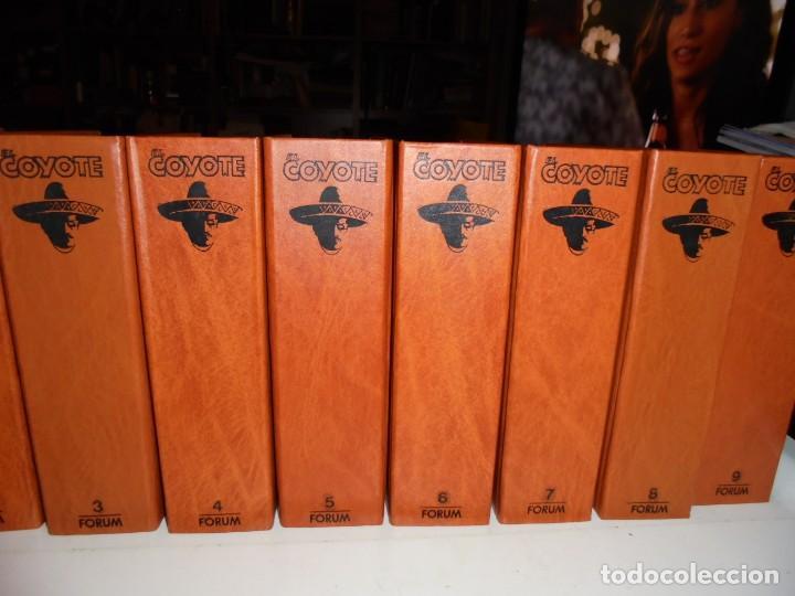 Tebeos: EL COYOTE COLECCIÓN 9 TOMOS FORUM 1983 - Foto 3 - 170315196