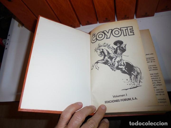 Tebeos: EL COYOTE COLECCIÓN 9 TOMOS FORUM 1983 - Foto 10 - 170315196