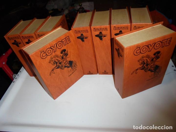 Tebeos: EL COYOTE COLECCIÓN 9 TOMOS FORUM 1983 - Foto 17 - 170315196