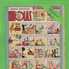 Tebeos: NICOLAS - Nº 75 - EN BUSCA DE UN EMPLEO - CLIPER - (1948).. Lote 171637143
