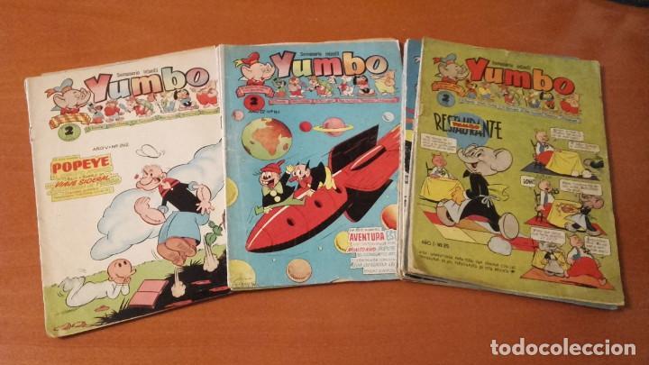 YUMBO EDICIONES CLÍPER LOTE DE 11 Nº. (Tebeos y Comics - Cliper - Yumbo)