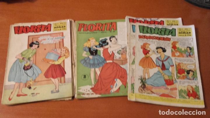 FLORITA EDICIONES CLÍPER LOTE DE 21 Nº. (Tebeos y Comics - Cliper - Florita)