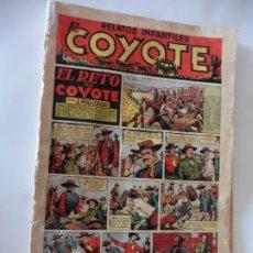 Tebeos: COYOTE Nº 4 EL RETO DEL COYOTE ORIGINAL. Lote 172791359