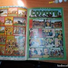 Tebeos: EL COYOTE EDITORIAL CLIPER 1947 TOMO ORIGINAL27 NUMEROS CON DOS ALMANAQUE. Lote 174978033