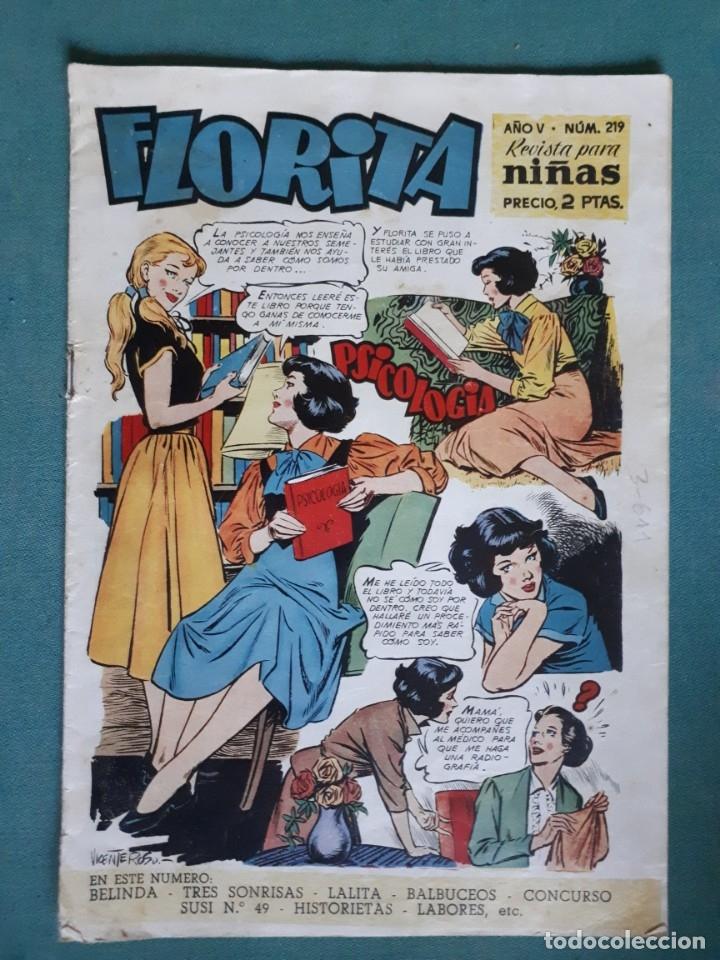 TEBEO / CÓMIC FLORITA, AÑO V, Nº 219 (Tebeos y Comics - Cliper - Florita)