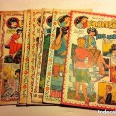 Tebeos: FLORITA - LOTE DE 10 EJEMPLARES. Lote 177504210