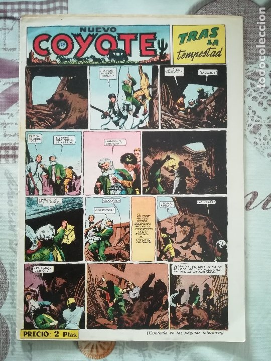 EL COYOTE Nº 129 (Tebeos y Comics - Cliper - El Coyote)