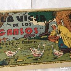 Tebeos: LA VIEJA DE LOS GANSOS. Lote 177692662
