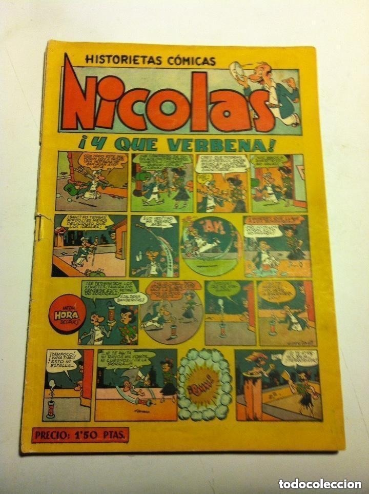 NICOLÁS -Nº.14 - LOMO ABIERTO (Tebeos y Comics - Cliper - Nicolas)