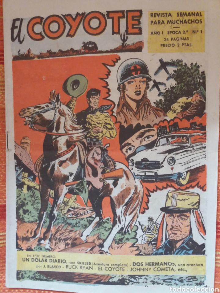 EL COYOTE REVISTA SEMANAL PARA MUCHACHOS (Tebeos y Comics - Cliper - Florita)