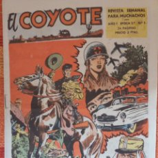 Tebeos: EL COYOTE REVISTA SEMANAL PARA MUCHACHOS. Lote 177775984