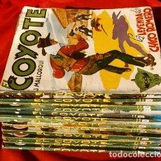Tebeos: EL COYOTE - LOTE 12 EJEMPLARES (1ª EDICION ORIGINAL) J. MALLORQUÍ - EDICIONES CLIPER. Lote 177961257