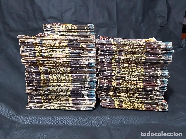 LOTE DE 127 NÚMERO DE EL COYOTE, EDITORIAL CLIPPER, AÑOS 40 Y 50 (Tebeos y Comics - Cliper - El Coyote)