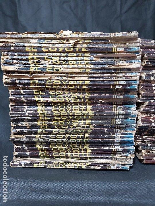 Tebeos: Lote de 127 número de El Coyote, Editorial Clipper, Años 40 y 50 - Foto 2 - 178119924