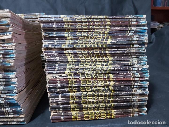 Tebeos: Lote de 127 número de El Coyote, Editorial Clipper, Años 40 y 50 - Foto 4 - 178119924