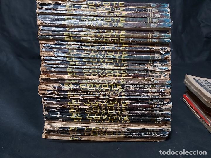 Tebeos: Lote de 127 número de El Coyote, Editorial Clipper, Años 40 y 50 - Foto 5 - 178119924