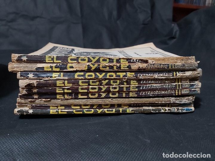 Tebeos: Lote de 127 número de El Coyote, Editorial Clipper, Años 40 y 50 - Foto 6 - 178119924