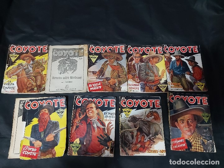 Tebeos: Lote de 127 número de El Coyote, Editorial Clipper, Años 40 y 50 - Foto 7 - 178119924