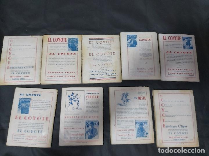 Tebeos: Lote de 127 número de El Coyote, Editorial Clipper, Años 40 y 50 - Foto 8 - 178119924