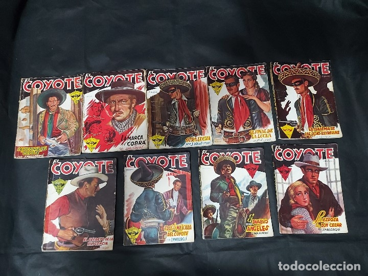 Tebeos: Lote de 127 número de El Coyote, Editorial Clipper, Años 40 y 50 - Foto 9 - 178119924