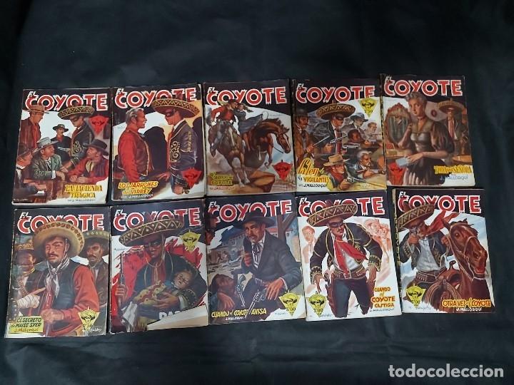 Tebeos: Lote de 127 número de El Coyote, Editorial Clipper, Años 40 y 50 - Foto 11 - 178119924