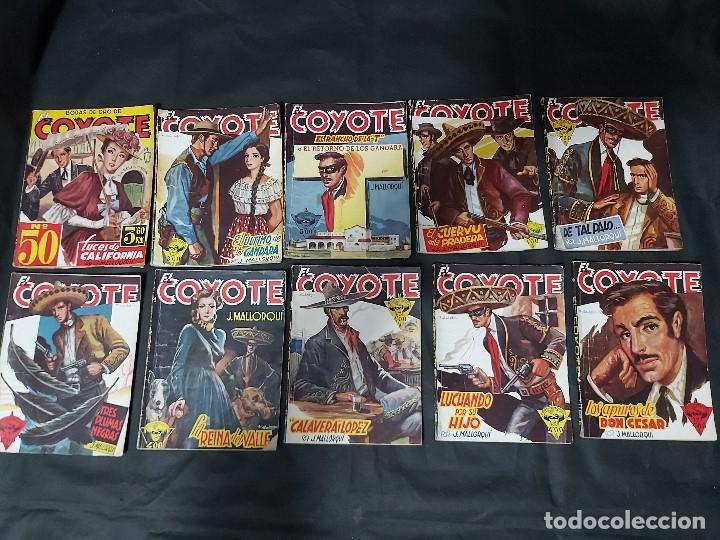 Tebeos: Lote de 127 número de El Coyote, Editorial Clipper, Años 40 y 50 - Foto 17 - 178119924