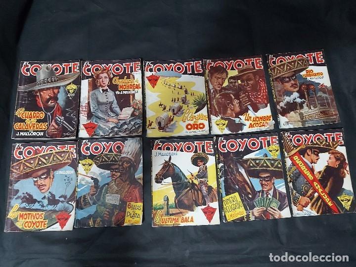 Tebeos: Lote de 127 número de El Coyote, Editorial Clipper, Años 40 y 50 - Foto 19 - 178119924