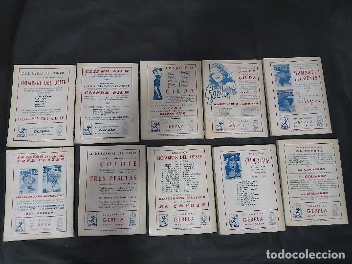 Tebeos: Lote de 127 número de El Coyote, Editorial Clipper, Años 40 y 50 - Foto 20 - 178119924