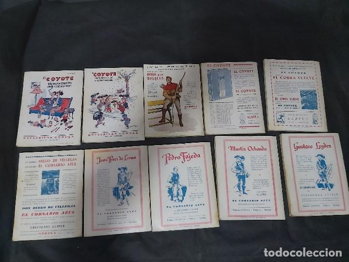 Tebeos: Lote de 127 número de El Coyote, Editorial Clipper, Años 40 y 50 - Foto 22 - 178119924