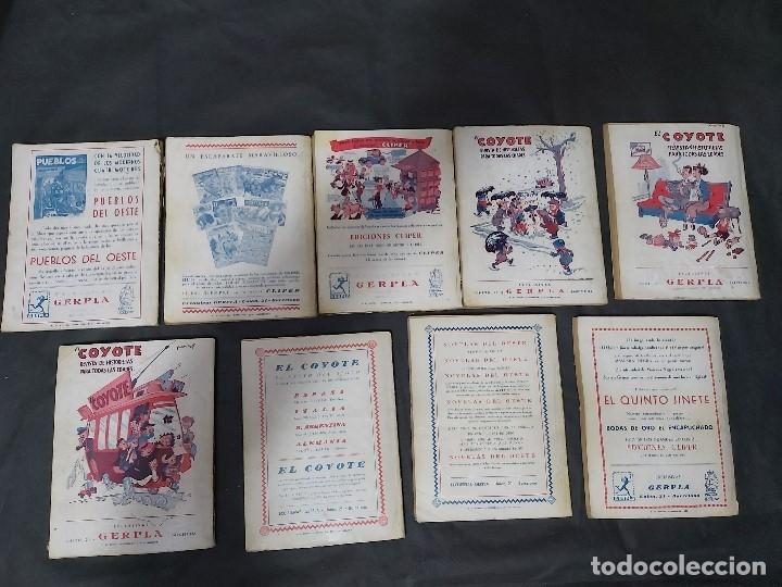 Tebeos: Lote de 127 número de El Coyote, Editorial Clipper, Años 40 y 50 - Foto 24 - 178119924