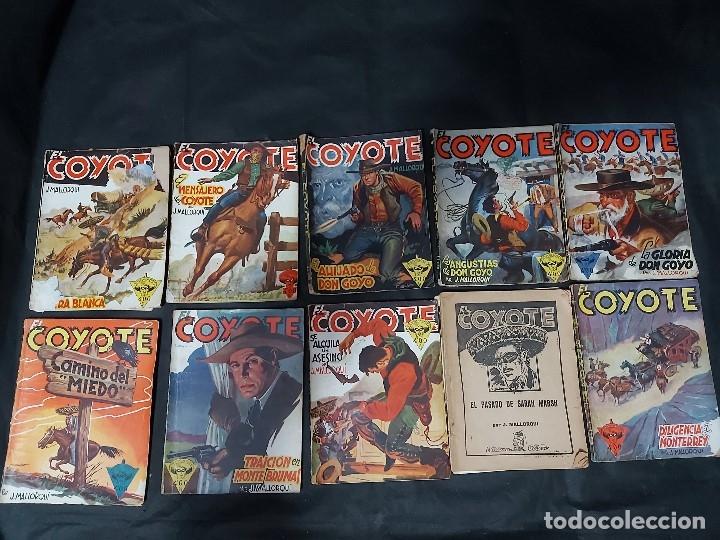 Tebeos: Lote de 127 número de El Coyote, Editorial Clipper, Años 40 y 50 - Foto 25 - 178119924