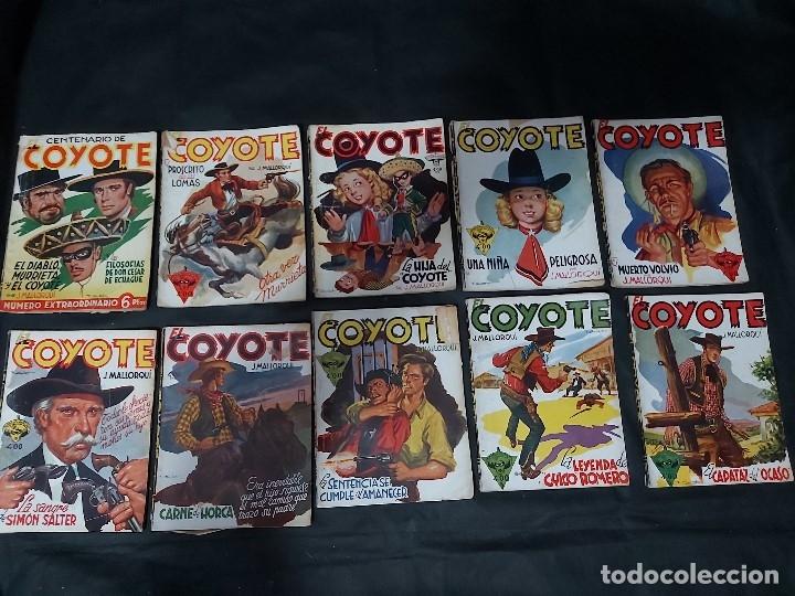 Tebeos: Lote de 127 número de El Coyote, Editorial Clipper, Años 40 y 50 - Foto 27 - 178119924